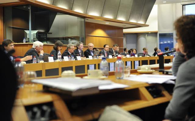 Reunião no Parlamento Europeu em Bruxelas, na Bélgica (© European Union 2013 PE-EP)