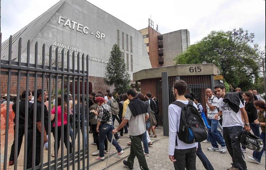 Unidade da Fatec, em São Paulo Imagem: William Volcov/Brasil Photo?FolhaPress