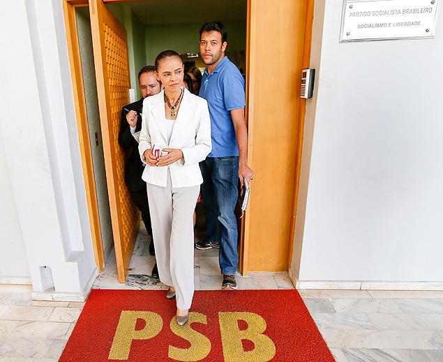 Marina Silva, candidata do PSB à Presidência da República: Imagem: Pedro Ladeira/Folhapress